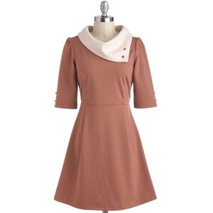 Modcloth Miss Patina Parisian Port Dress